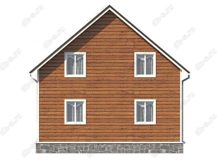 Проект каркасного дома площадью 141кв.м.