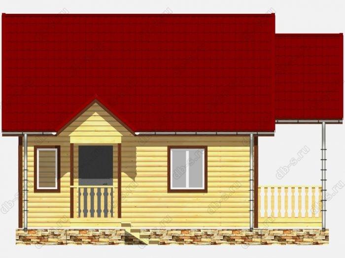 Строительство домов под ключ 6х7 из профилированного бруса