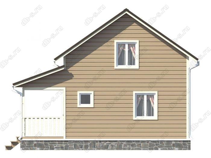 Фото каркасного дома под ключ 6 на 9