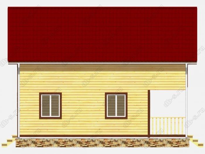 Строительство домов под ключ 7х9 из профилированного бруса