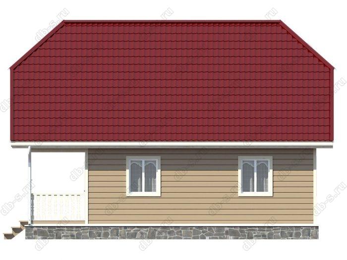 Проект каркасного дома площадью 114кв.м.