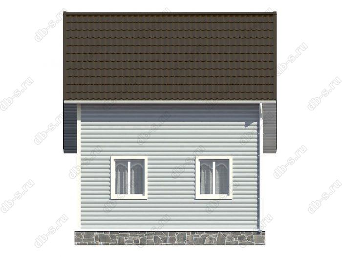 Проект каркасного дома площадью 81кв.м.