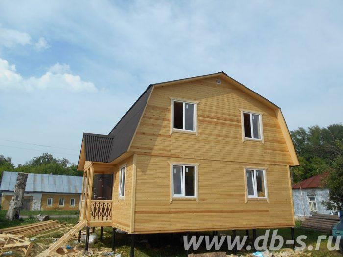 Строительство каркасного дома с мансардой 9 на 7 Заворонежское, Тамбовская область фото 1