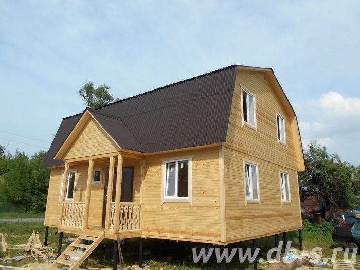 Строительство каркасного дома с мансардой 9 на 7 Заворонежское, Тамбовская область фото 2