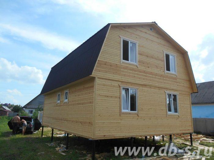 Строительство каркасного дома с мансардой 9 на 7 Заворонежское, Тамбовская область фото 3