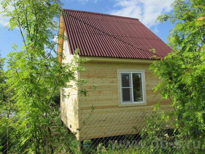 Строительство каркасного дома с мансардой 6 на 4 Чудово, Новгородская область фото 1