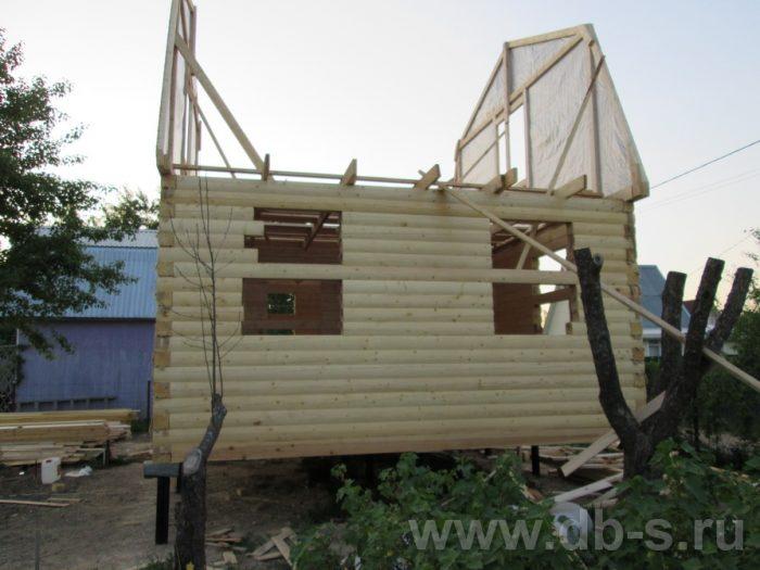 Строительство дома из бруса с мансардой 6 на 5 Гаврилов-Ям, Ярославская область фото 2