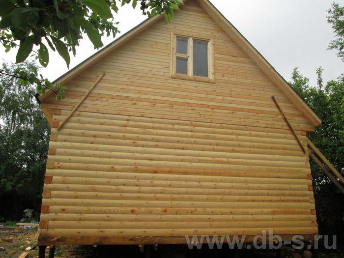 Строительство дома из бруса с мансардой 6 на 6 Переславль-Залесский, Ярославская область фото 2