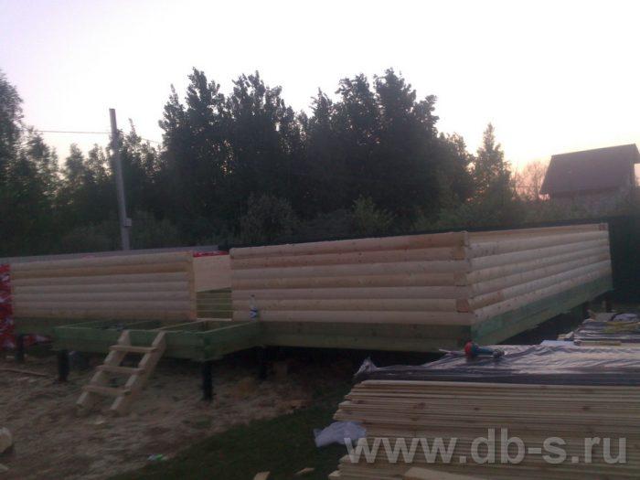 Строительство дома из бруса с мансардой 9 на 7 Люберцы, Московская область фото 2