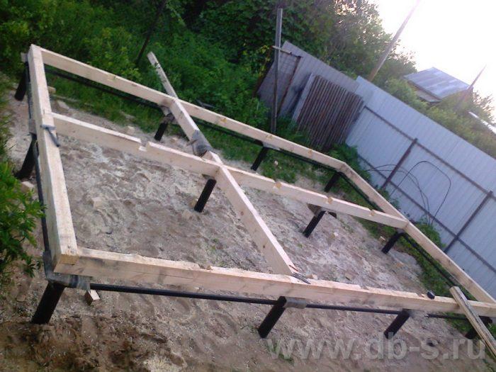 Строительство одноэтажной бани из бруса 6 на 4 Рыбинск, Ярославская область фото 2