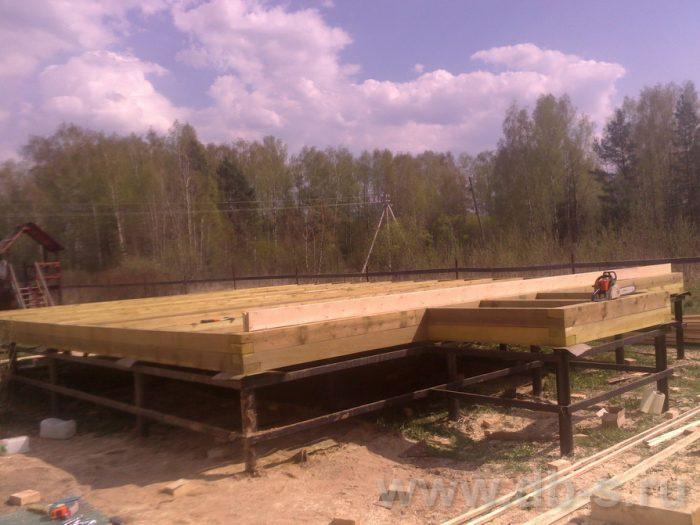 Строительство двухэтажного каркасного дома 10 на 8 Петушки, Владимирская область фото 4