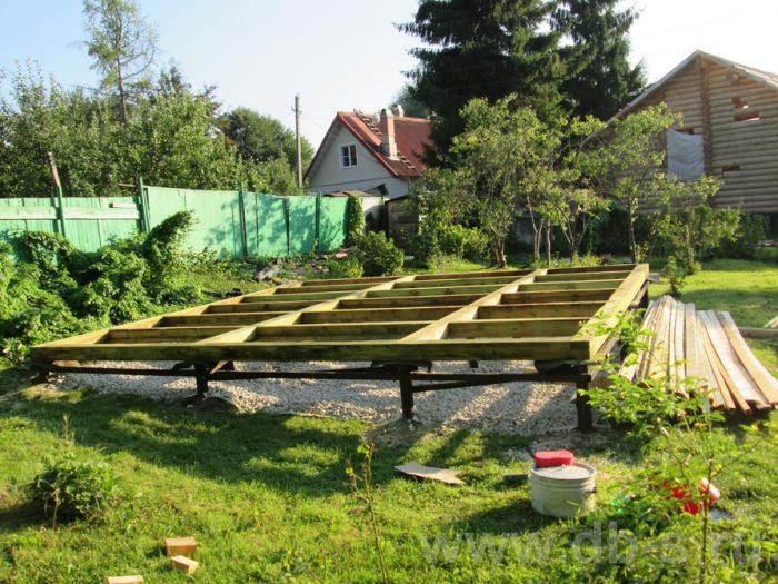 Строительство дома из бруса с мансардой 6 на 6 Солнечногорск, Московская область фото 2