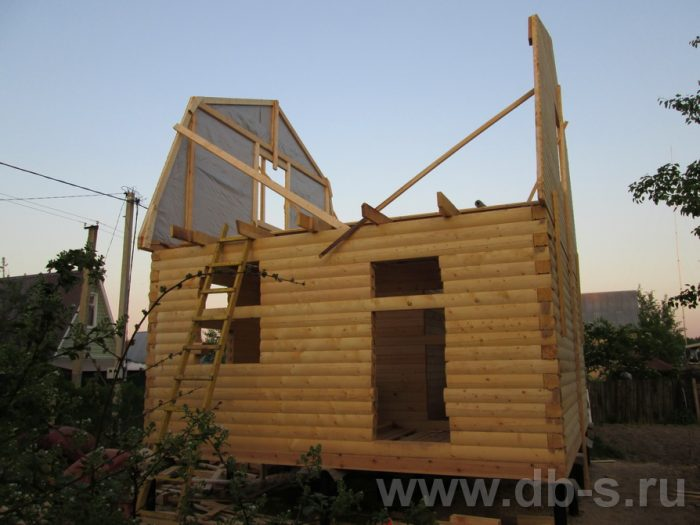 Строительство дома из бруса с мансардой 6 на 5 Гаврилов-Ям, Ярославская область фото 3
