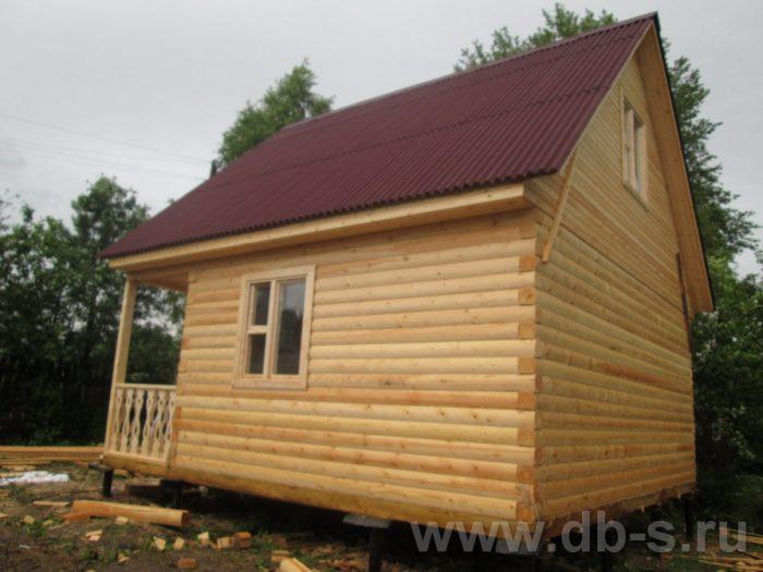 Строительство дома из бруса с мансардой 6 на 6 Переславль-Залесский, Ярославская область фото 3