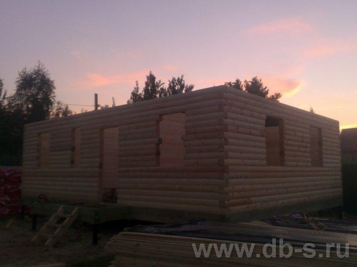 Строительство дома из бруса с мансардой 9 на 7 Люберцы, Московская область фото 3