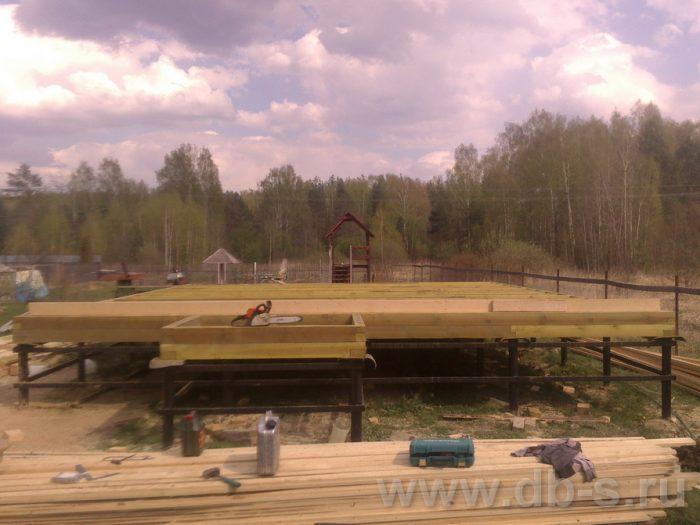 Строительство двухэтажного каркасного дома 10 на 8 Петушки, Владимирская область фото 5