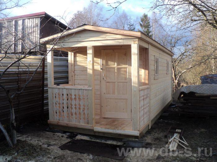 Строительство одноэтажной бани из бруса 7 на 2,3 Балашиха, Московская область фото 2