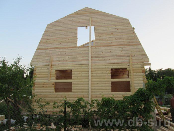 Строительство дома из бруса с мансардой 6 на 5 Гаврилов-Ям, Ярославская область фото 4