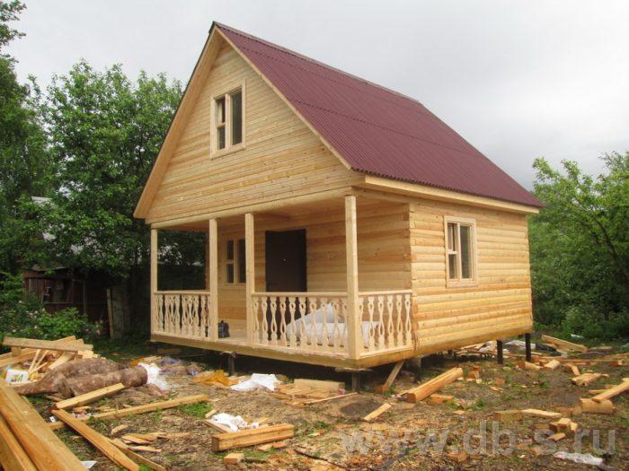 Строительство дома из бруса с мансардой 6 на 6 Переславль-Залесский, Ярославская область фото 1