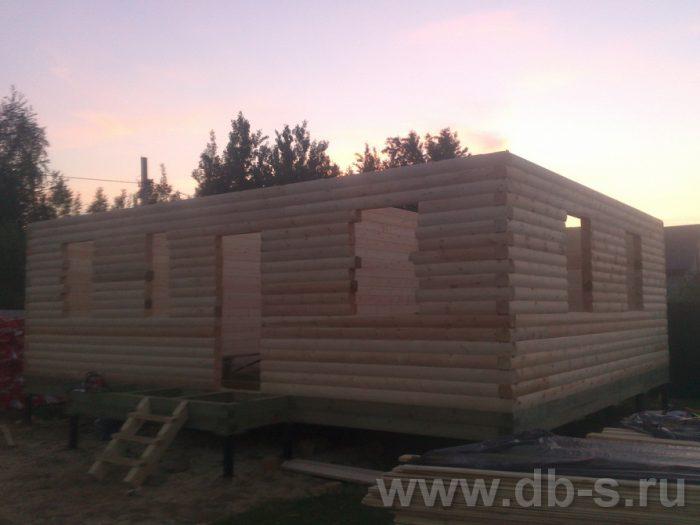 Строительство дома из бруса с мансардой 9 на 7 Люберцы, Московская область фото 4