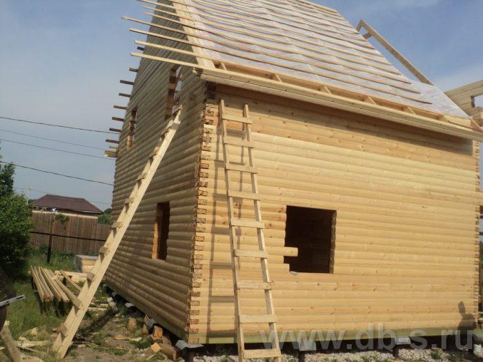 Строительство двухэтажного дома из бруса 8 на 8 Коломна, Московская область фото 4