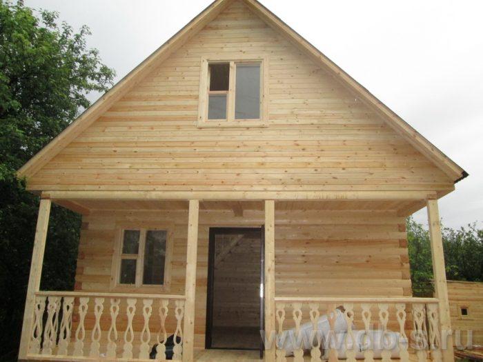 Строительство дома из бруса с мансардой 6 на 6 Переславль-Залесский, Ярославская область фото 4