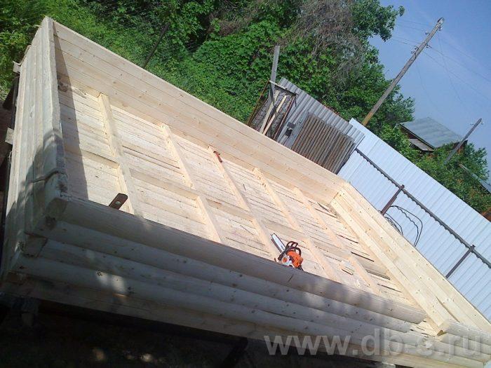 Строительство одноэтажной бани из бруса 6 на 4 Рыбинск, Ярославская область фото 5