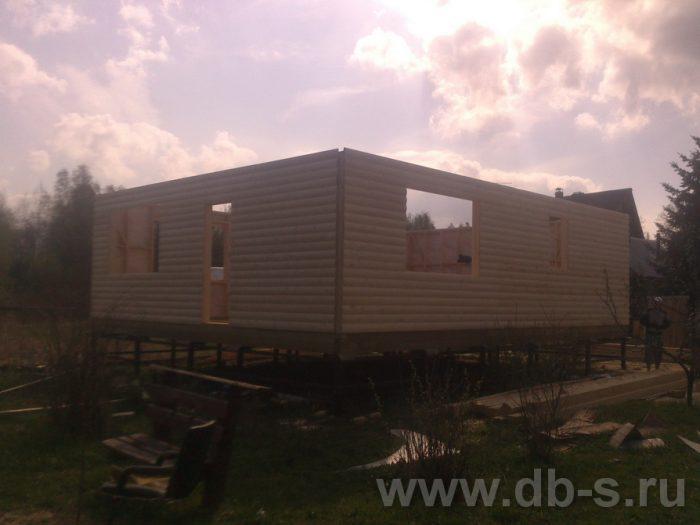 Строительство двухэтажного каркасного дома 10 на 8 Петушки, Владимирская область фото 7