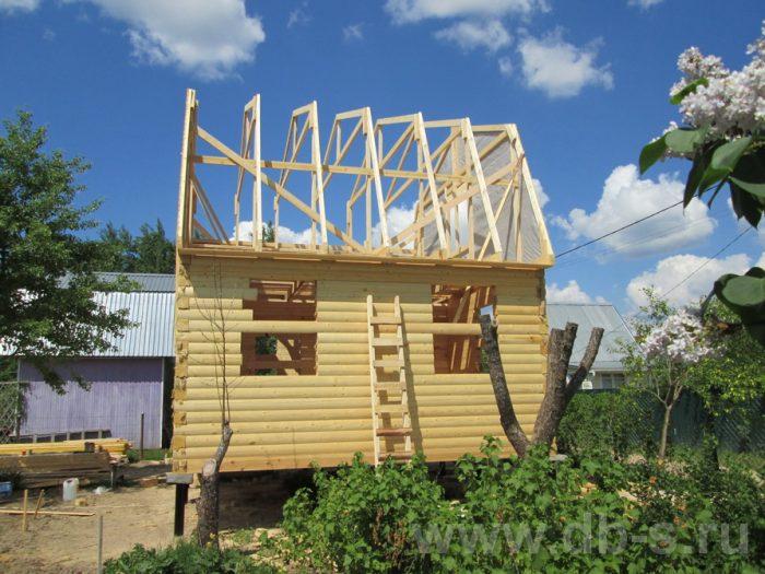 Строительство дома из бруса с мансардой 6 на 5 Гаврилов-Ям, Ярославская область фото 5
