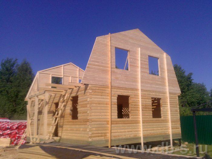 Строительство дома из бруса с мансардой 9 на 7 Люберцы, Московская область фото 5
