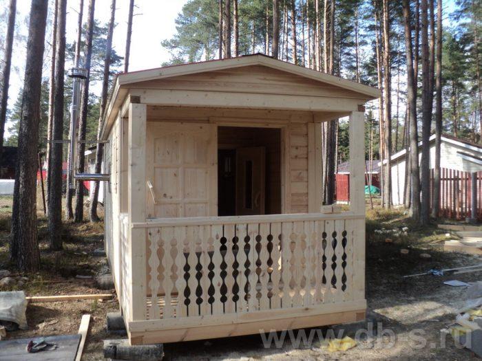 Строительство одноэтажной бани из бруса 7 на 2,3 Балашиха, Московская область фото 5