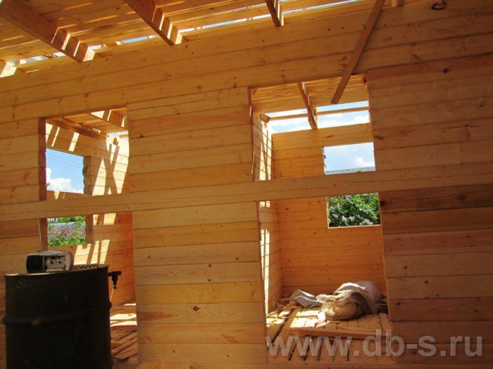 Строительство дома из бруса с мансардой 6 на 5 Гаврилов-Ям, Ярославская область фото 6