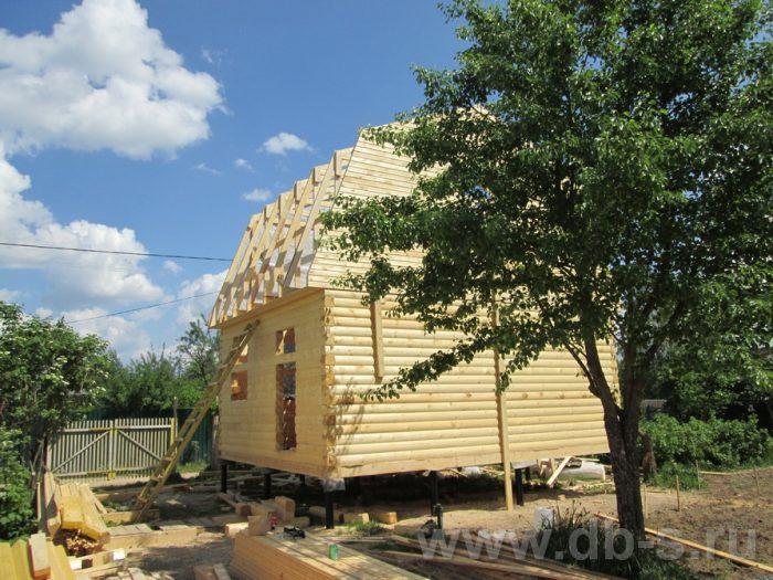 Строительство дома из бруса с мансардой 6 на 5 Гаврилов-Ям, Ярославская область фото 7