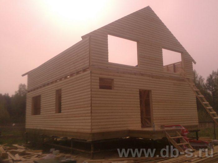 Строительство двухэтажного каркасного дома 10 на 8 Петушки, Владимирская область фото 8