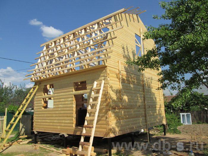 Строительство дома из бруса с мансардой 6 на 5 Гаврилов-Ям, Ярославская область фото 8