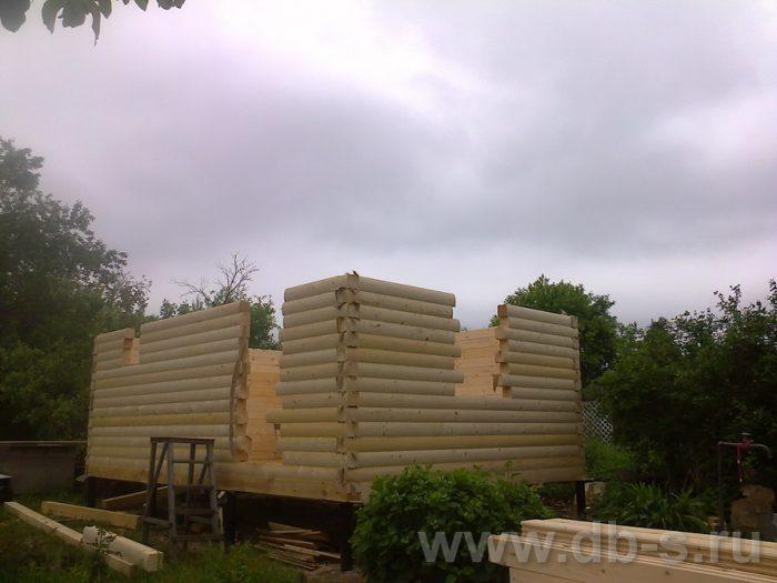 Строительство бани из бруса с мансардой 6 на 4 Домодедово, Московская область фото 8