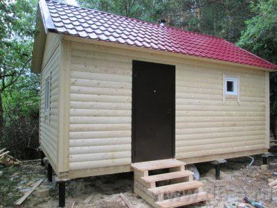 Строительство бани 6х4 г. Люберцы