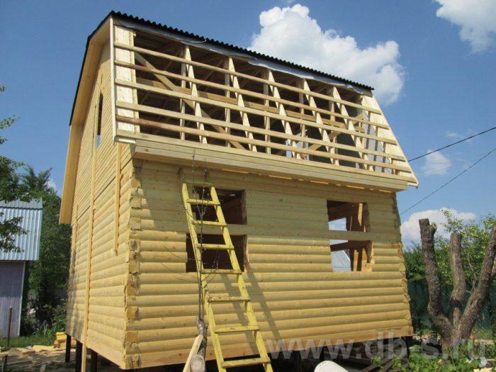 Строительство дома из бруса с мансардой 6 на 5 Гаврилов-Ям, Ярославская область фото 9