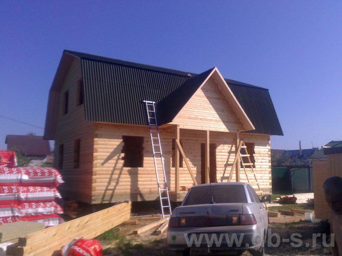 Строительство дома из бруса с мансардой 9 на 7 Люберцы, Московская область фото 8