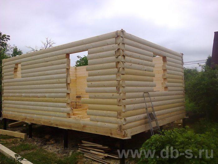 Строительство бани из бруса с мансардой 6 на 4 Домодедово, Московская область фото 9