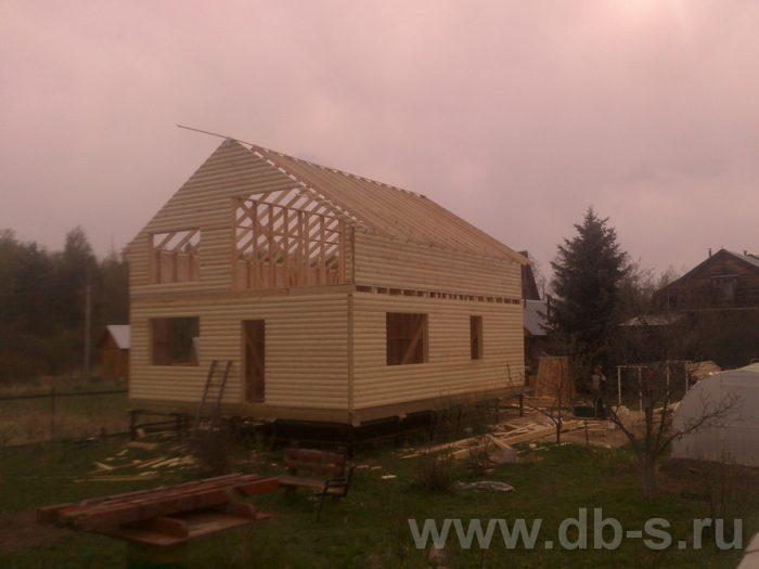 Строительство двухэтажного каркасного дома 10 на 8 Петушки, Владимирская область фото 9