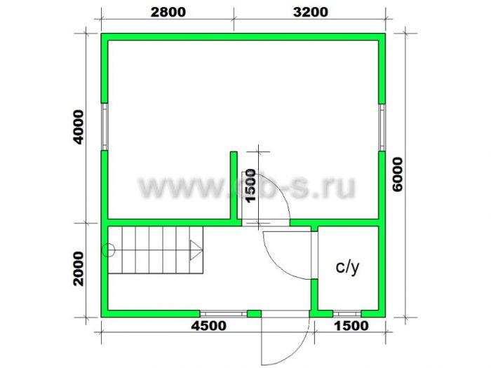Строительство каркасного дома с мансардой 6 на 6 Электросталь, Московская область фото 4