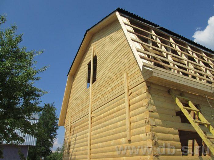 Строительство дома из бруса с мансардой 6 на 5 Гаврилов-Ям, Ярославская область фото 10