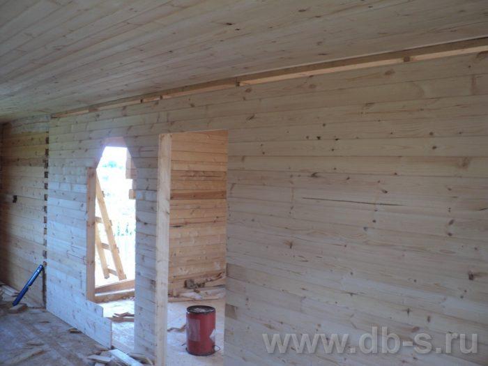 Строительство двухэтажного дома из бруса 8 на 8 Коломна, Московская область фото 10