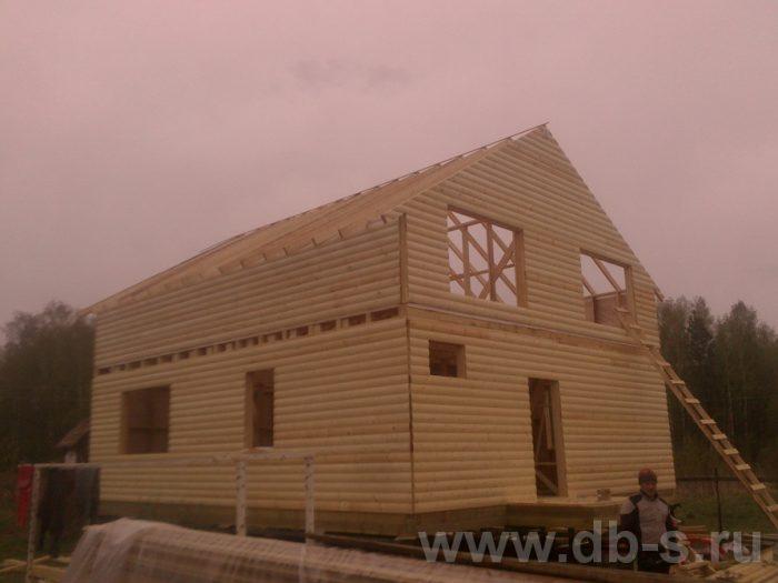 Строительство двухэтажного каркасного дома 10 на 8 Петушки, Владимирская область фото 10