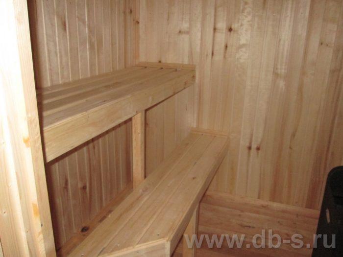 Строительство одноэтажной бани из бруса 6 на 4 Фрязино, Московская область фото 10