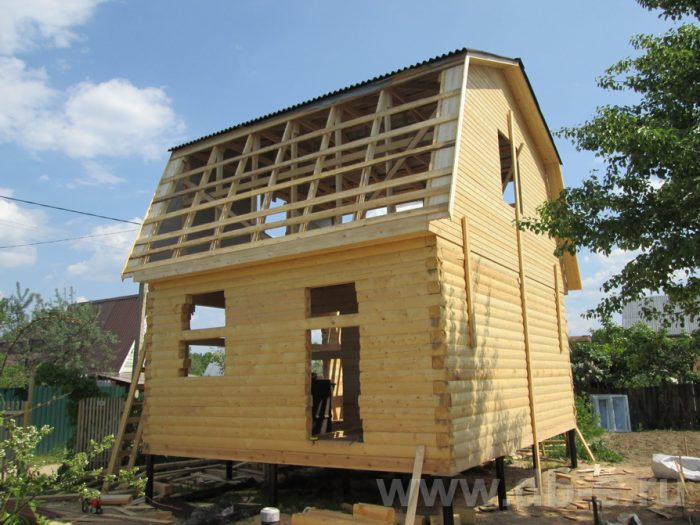 Строительство дома из бруса с мансардой 6 на 5 Гаврилов-Ям, Ярославская область фото 11