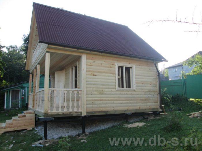 Строительство дома из бруса с мансардой 6 на 6 Солнечногорск, Московская область фото 7