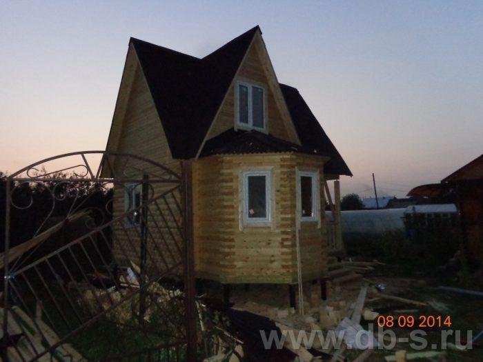 Строительство дома из бруса с мансардой 6 на 6 Подольск, Московская область фото 10