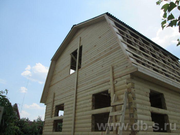 Строительство дома из бруса с мансардой 6 на 5 Гаврилов-Ям, Ярославская область фото 12